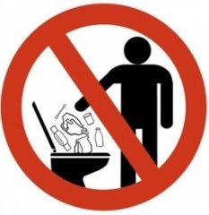 gemeinde reichertshausen im landkreis pfaffenhofen a d ilm die toilette ist kein abfalleimer. Black Bedroom Furniture Sets. Home Design Ideas