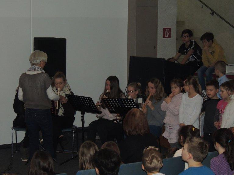 Weihnachtskonzert FlötenAG
