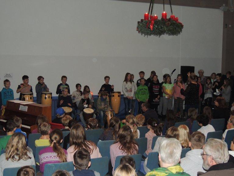 Weihnachtskonzert 2017 - Musikklasse Trommel